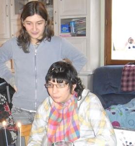Lauriane et sa soeur